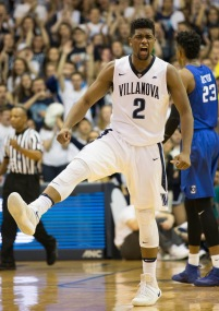 Feb. 25th, 2017 | Villanova, PA | Wildcat senior guard Kris Jenkins